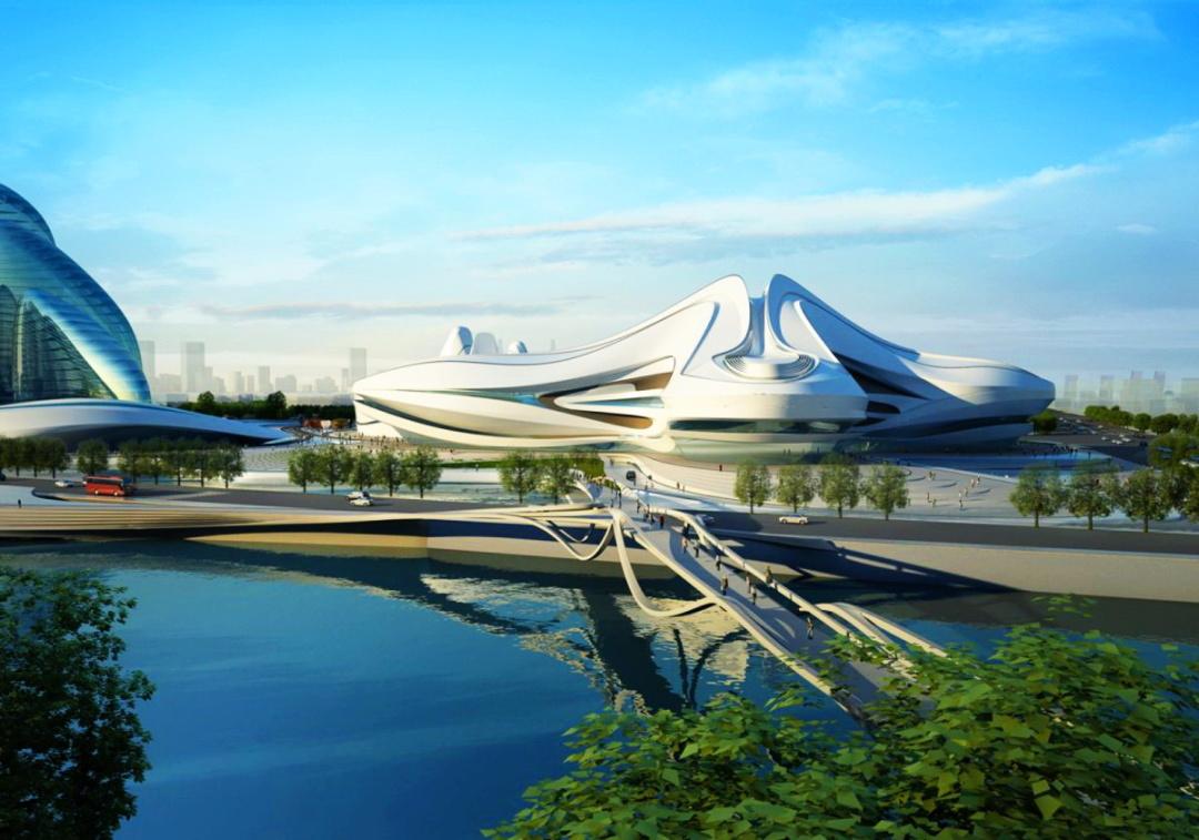 Міжнародний центр культури та мистецтва Чанша, Китай