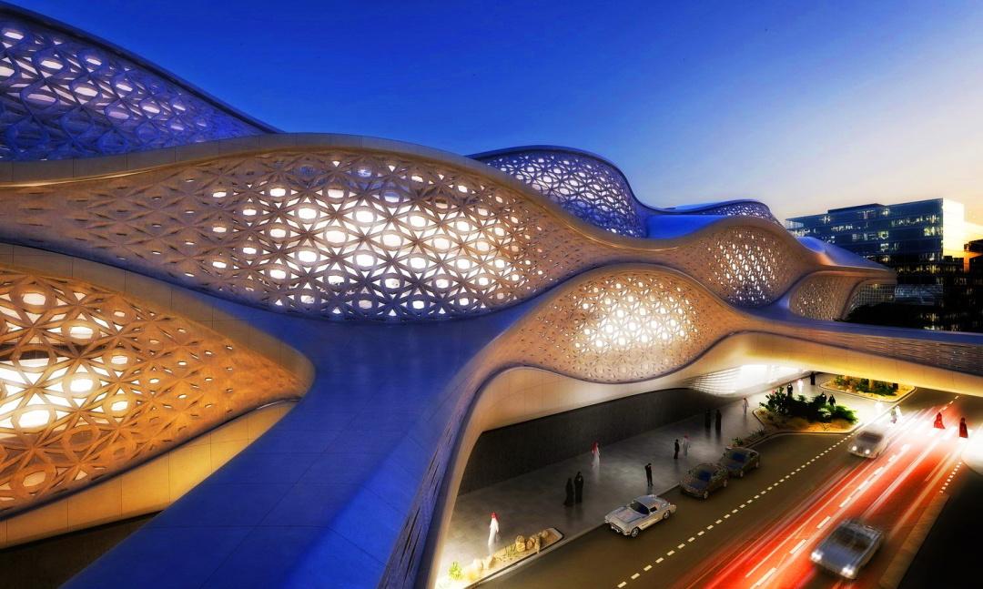 Золота станція метро в Ер-Ріяді, Саудівська Аравія