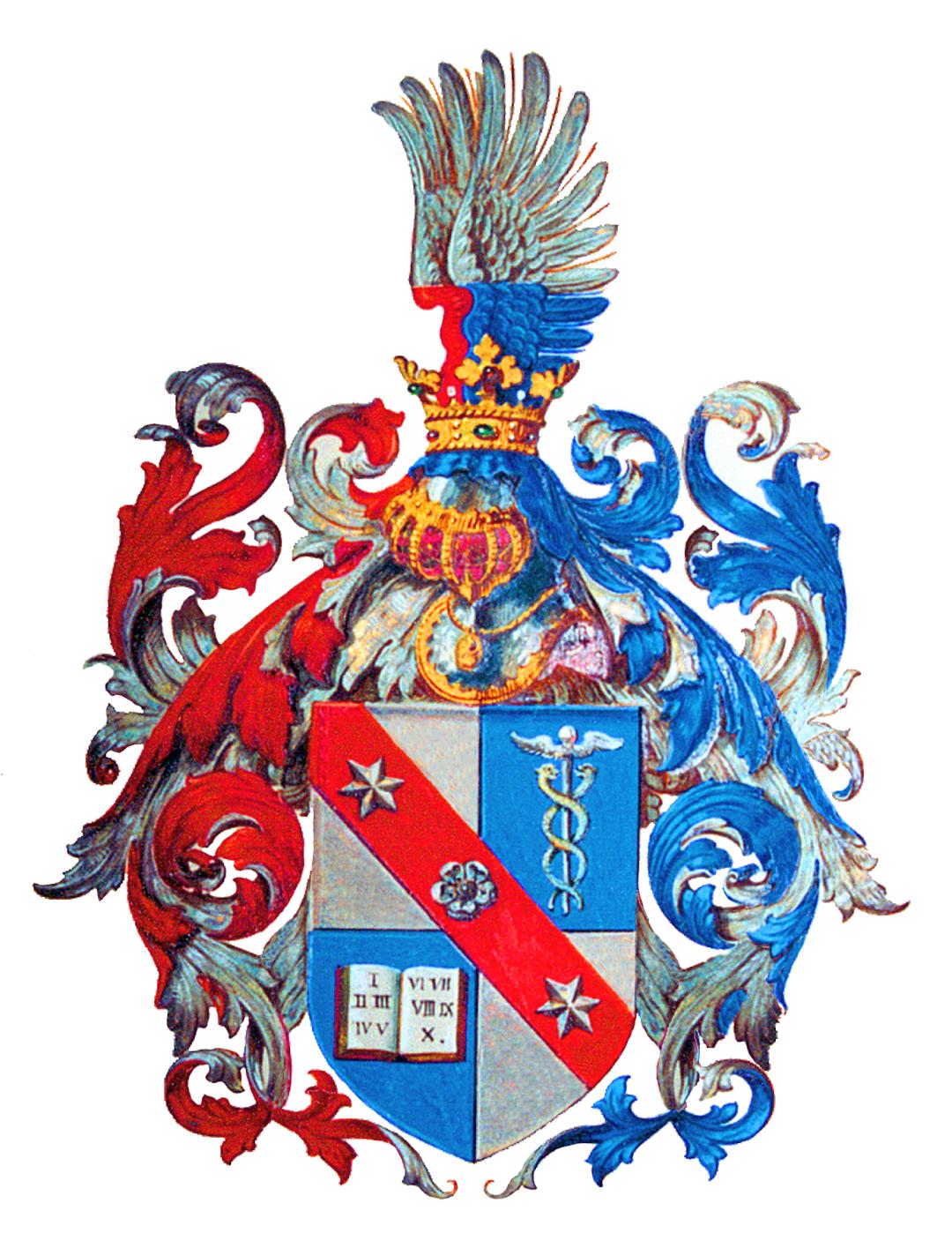 Дворянський герб родини фон Мізесів