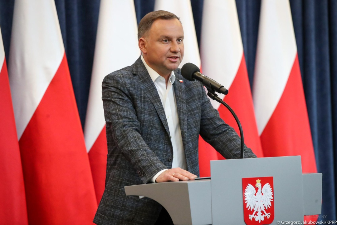 Анджей Дуда / Фото: Grzegorz Jakubowski / KPRP