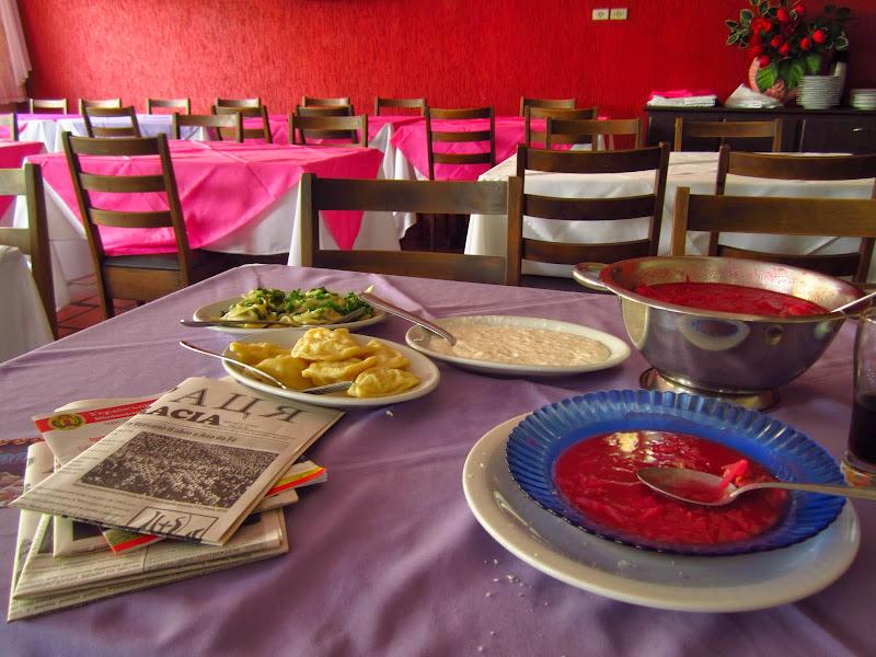 У місті є магазини і ресторанах, де подають українські страви... / Фото: Георгій Красніков, тревел-блогер