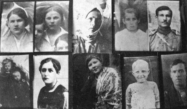 Загиблі у березні 1943 року мешканці Корюківки