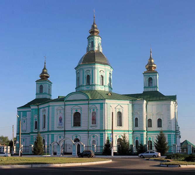 Свято-Покровський кафедральний собор в Охтирці