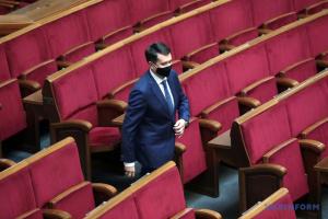 Разумков заявил, что после отзыва с поста спикера должен автоматически войти во фракцию «СН»