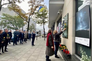W Warszawie uczczono pamięć obrońców Ukrainy