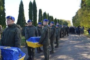 На Львівщині перепоховали 16 вояків УПА, закатованих НКВС