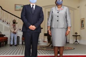 Кислица вручил президенту Тринидада и Табаго верительные грамоты посла Украины