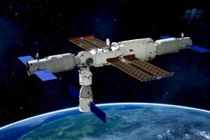 Китайська ракета успішно пришвартувалась до нової орбітальної станції