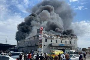 В Ізраїлі горів торговельний центр, є постраждалі