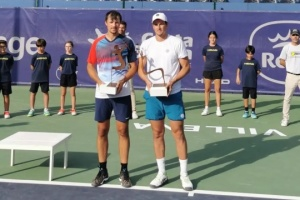 Украинец Молчанов выиграл парный турнир ATP в Аликанте