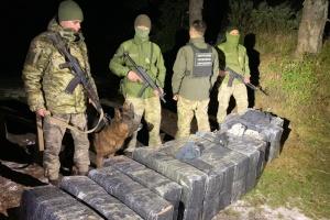 На Закарпатье пограничники сорвали сразу три попытки контрабанды сигарет
