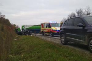 На Львівщини сталася ДТП з вантажівкою, є загиблі