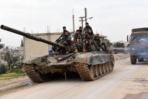 Режим Асада перекидає артустановки і танки в Алеппо після заяв Туреччини