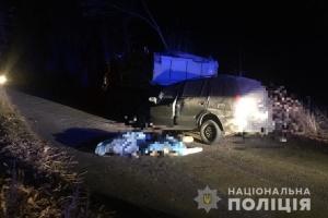 На Буковині Mazda в'їхала у КАМАЗ, двоє загиблих