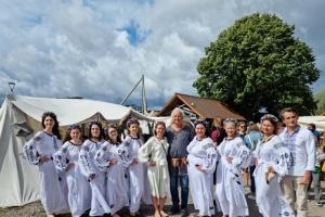 У Норвегії українці долучилися до вікинг-фестивалю у Тьонсберзі
