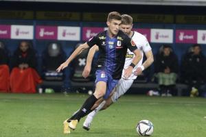 «Черноморец» в большинстве проиграл «Вересу» в матче 11-го тура УПЛ