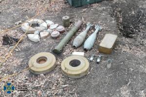 СБУ викрила бойові схрони ворожих диверсантів на сході й півдні України