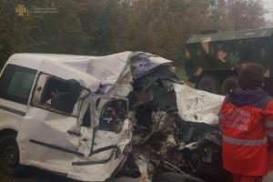 На Львовщине столкнулись грузовик «Урал» и Volkswagen, есть погибшие