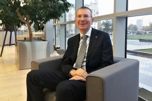 Edgars Rinkēvičs, ministro de Asuntos Exteriores de Letonia