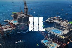 Саудівська Аравія створить перший у світі парк розваг на морській буровій платформі