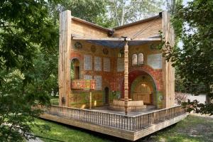 Символічна синагога з України перемогла в голосуванні міжнародної архітектурної премії