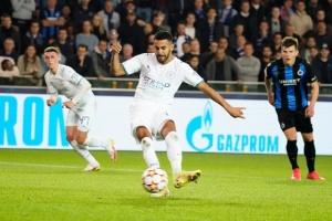 «Брюгге» с Соболем в составе уступил «Ман Сити» в матче ЛЧ