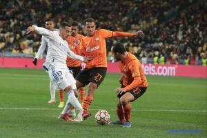 «Шахтар» програв «Реалу» у Лізі чемпіонів УЄФА