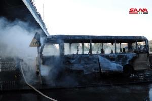 У Дамаску підірвали автобус із солдатами, мінімум 14 загиблих