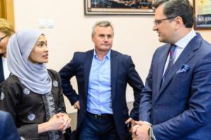 Kuleba inaugura el primer Centro de Estudios de la ASEAN en Ucrania