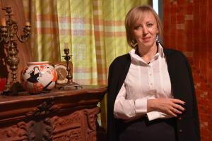 Олена Чижова, директорка Центрального державного архіву-музею літератури і мистецтва України