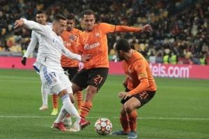 El Shakhtar Donetsk pierde ante el Real Madrid en la UEFA Champions League