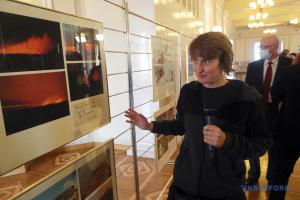 «Позивний Мауглі»: у Раді відкрилась виставка фоторепортера Укрінформу, присвячена АТО