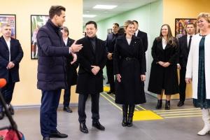 Зеленская на Черкасчине ознакомилась с первыми результатами проекта «Громады без барьеров»