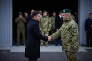 Зеленский посетил центр подготовки пограничников на Черкасщине