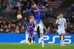 «Динамо» минимально уступило «Барселоне» в Лиге чемпионов УЕФА