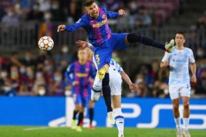 El Dynamo pierde ante el Barcelona en la UEFA Champions League