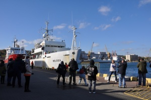 Research Vessel Belgica arrives in Odesa