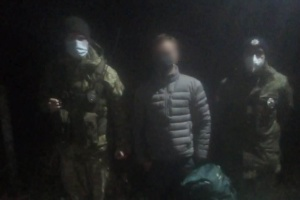 Прикордонники виявили в зоні ЧАЕС сталкера з Росії