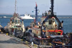 Forschungsschiff Belgica kommt in Odessa an