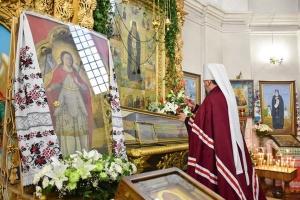 Епіфаній освятив хрест на місці майбутнього храму в Чернігові