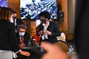 Виступ російської спікерки Матвієнко бойкотували на конференції в Афінах
