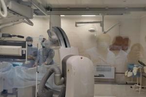 У Херсоні провели перші операції з відновлення кровотоку на серці та мозку