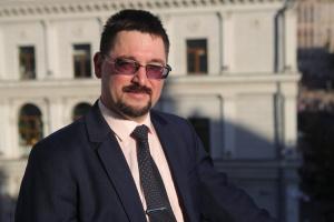 Владислав Берковський, виконавчий директор Українського культурного фонду