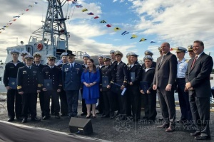 Украинские моряки в США завершили подготовку на катерах Island