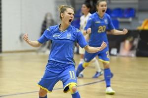 Украинские футзалистки победили Бельгию и в шаге от выхода на Евро-2022