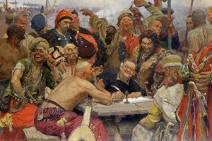 З чого сміялися запорожці Рєпіна?