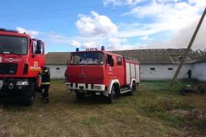 На Київщині горить пташина ферма