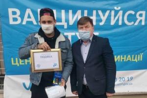 На вокзалі Дніпра медики вакцинували п'ятитисячного пасажира - Укрзалізниця