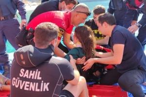 Во время фестиваля в Турции украинская парашютистка сорвалась в море