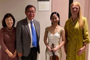 У Йокогамі відбувся концерт, організований Українсько-японською культурною асоціацією